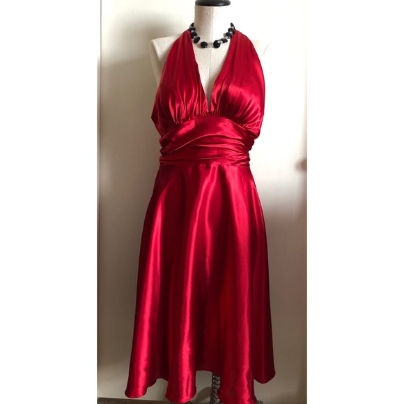 Forever 21 Dresses | Red Marilyn Monroe Inspired Dress | Poshmark